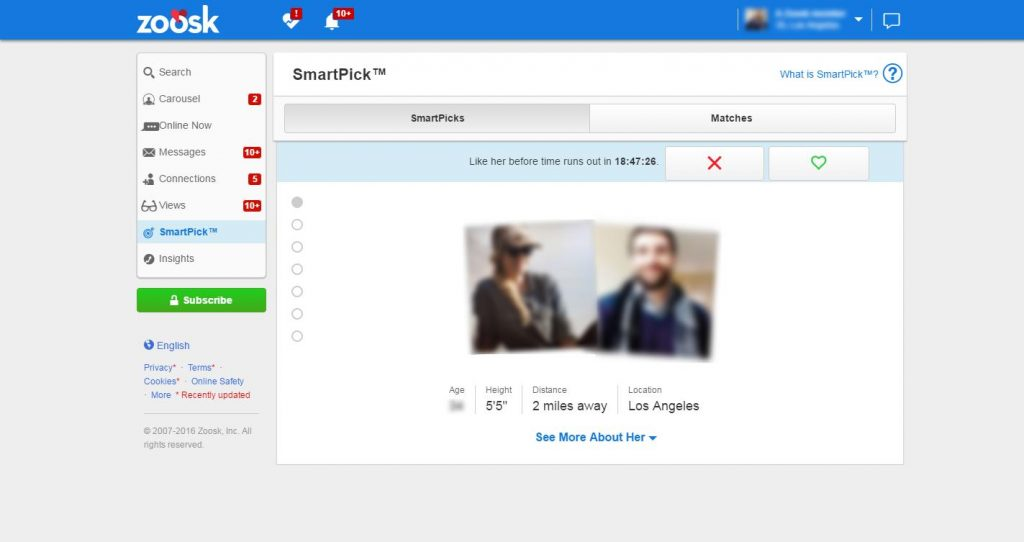 Zoosk Reviews 2019, Costs, Ratings & Features