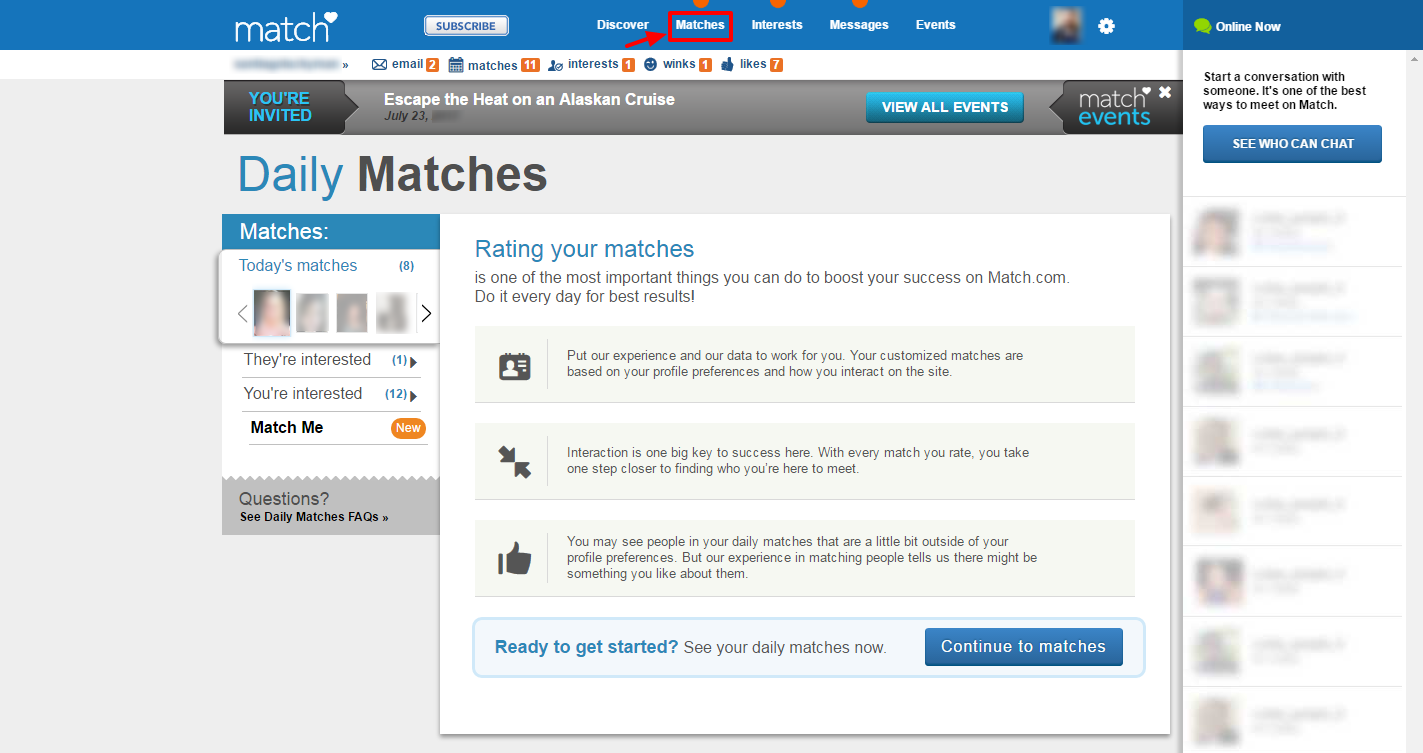 Match dating cost