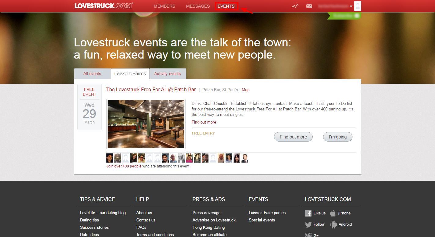 online dating website London dating site sports elskere