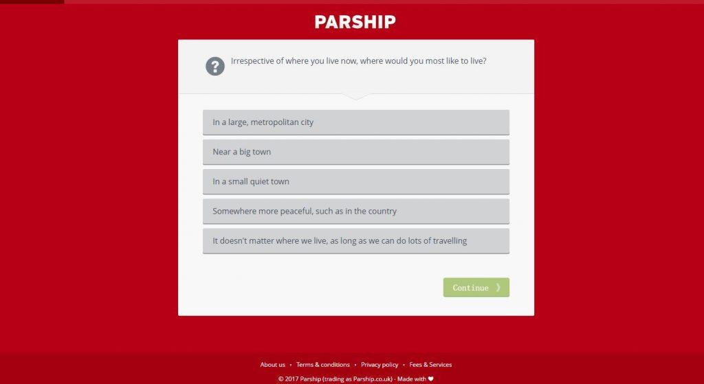 dating cafe oder parship