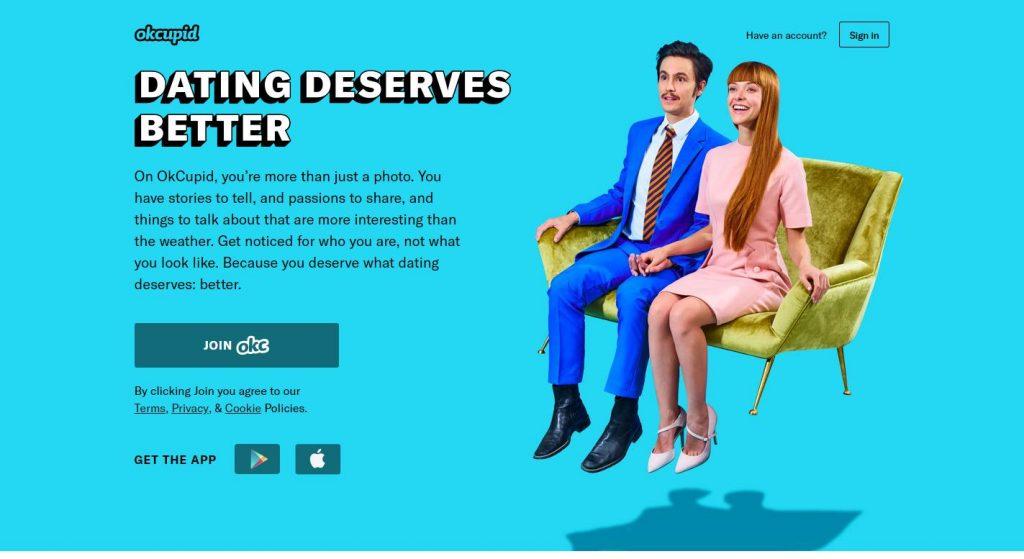 Okcupid com free online dating