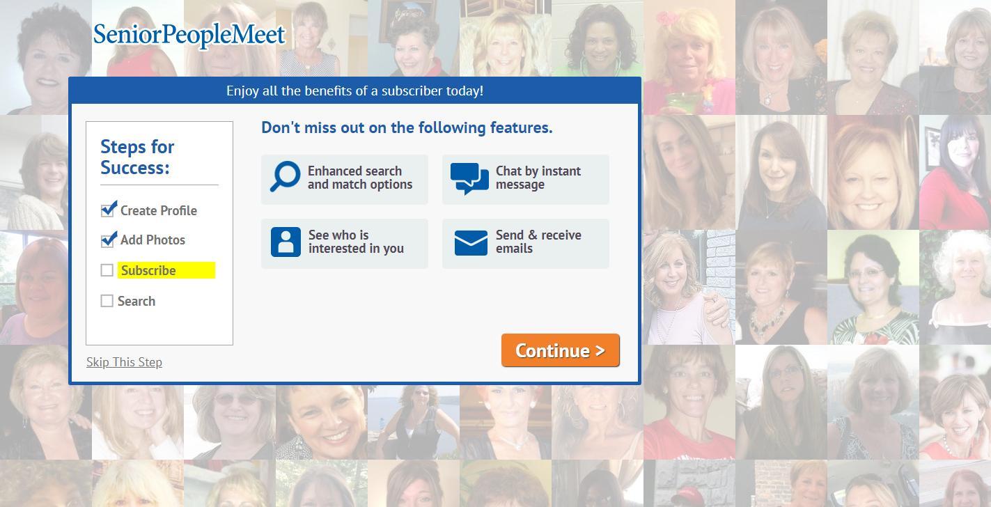 Seniorpeoplemeet com customer service