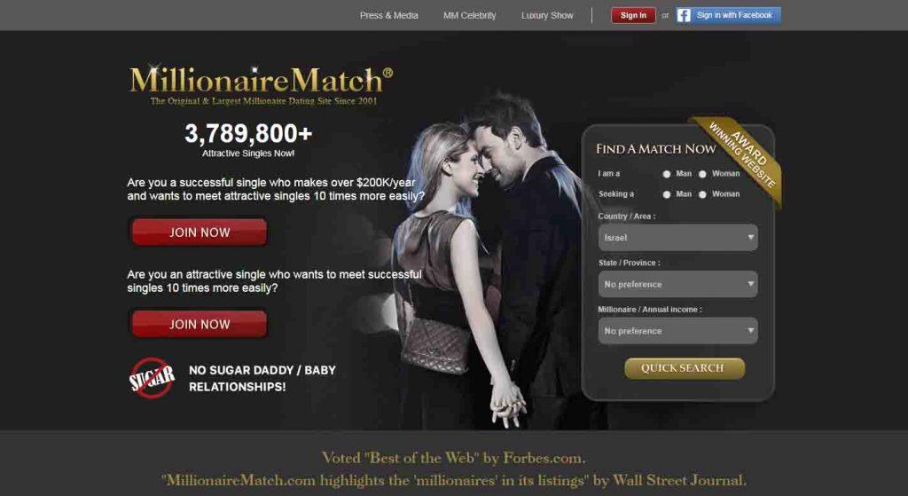 Millionaire sugar daddy online dating